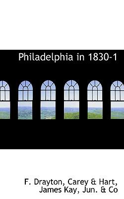Philadelphia in 1830-1:   2009 edition cover