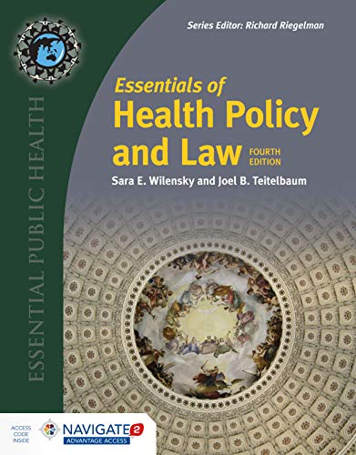 Essentials of Health Policy and Law  4th (Revised) 9781284151589 Front Cover