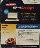 APPLIED MATH-ENHANCED WEBASSIG N/A edition cover