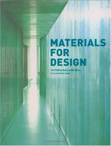 Materials for Design   2006 9781568985589 Front Cover