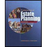 Fundamentals of Estate Planning, Thirteenth Edition 13th (Revised) edition cover