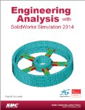 Engineering Analysis with SolidWorks Simulation 2014  N/A edition cover
