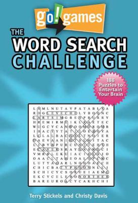 Word Search Challenge 188 Entertain Your Brain Puzzles N/A 9781936140589 Front Cover