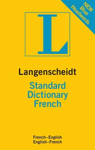Langenscheidt Standard Dictionary French  N/A edition cover