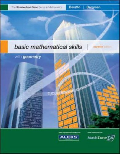 Basic Mathematical Skills With Geometry 7th 2008 (Revised) 9780073309590 Front Cover