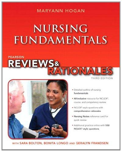 Nursing Fundamentals  3rd 2014 edition cover