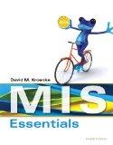 MIS Essentials  4th 2015 edition cover