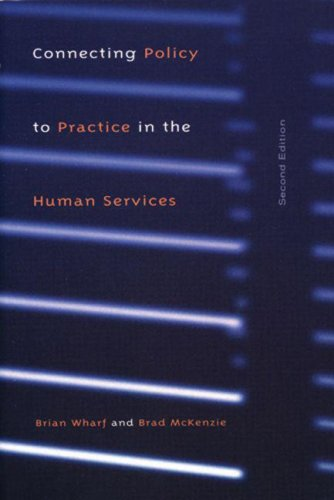 Connecting Policy to Practice in the Human Service:  2nd 2003 edition cover