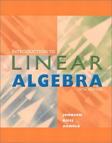 Introduction to Linear Algebra  5th 2002 (Revised) edition cover