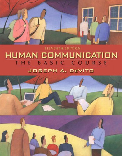 Human Communication The Basic Course 11th 2009 edition cover