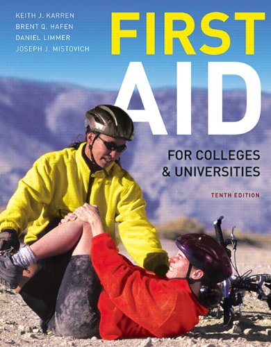 First Aid for Colleges and Universities  10th 2012 (Revised) edition cover