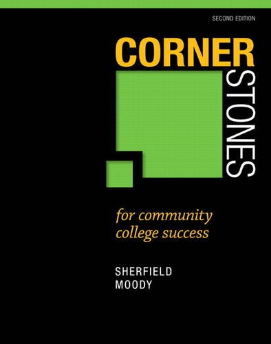 Cornerstones for Community College Success  2nd 2014 edition cover