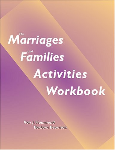 Marriage and Families Activities Workbook   2003 edition cover