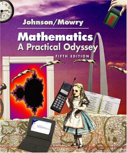 Mathematics A Practical Odyssey 5th 2004 (Revised) 9780534400590 Front Cover