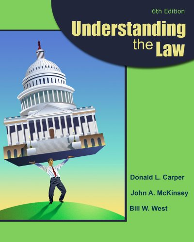 Understanding the Law  6th 2012 9780538473590 Front Cover