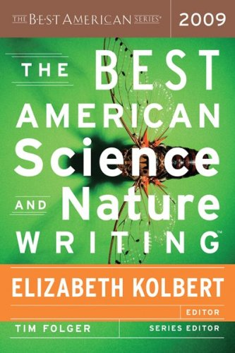 Best American Science and Nature Writing 2009   2009 9780547002590 Front Cover