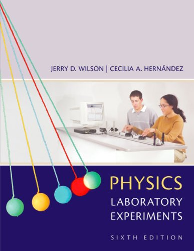 Physics Laboratory Experiments  6th 2005 edition cover
