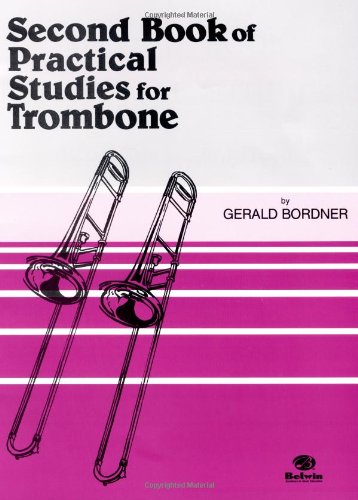 Second Book of Practice Studio Trombone  1985 edition cover