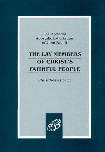 Lay Members of Christ's Faithful People Christifideles Laici N/A edition cover