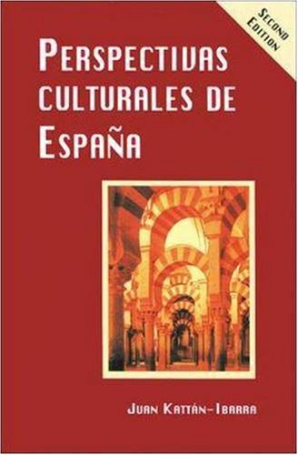 Perspectivas Culturales de Espa�a  2nd 1995 (Student Manual, Study Guide, etc.) edition cover
