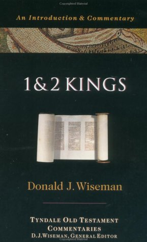 1 and 2 Kings An Introduction and Commentary N/A 9780877842590 Front Cover