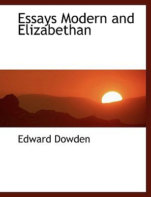 Essays Modern and Elizabethan N/A 9781113930590 Front Cover