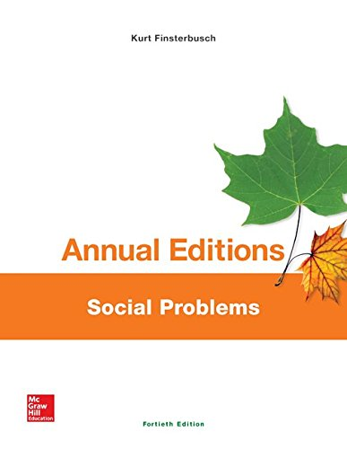 Social Problems:   2015 9781259359590 Front Cover
