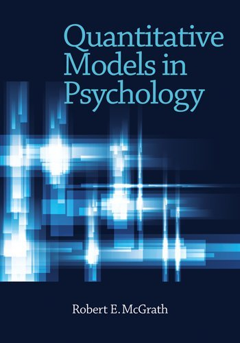 Quantitative Models in Psychology   2011 edition cover