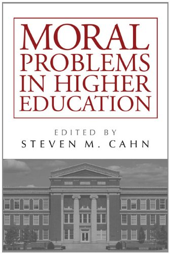 Moral Problems in Higher Education   2011 edition cover