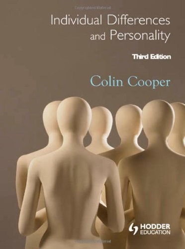 Individual Differences and Personality  3rd 2010 (Revised) edition cover