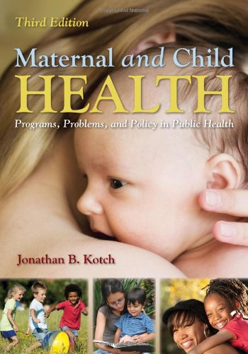 Maternal and Child Health  3rd 2013 edition cover