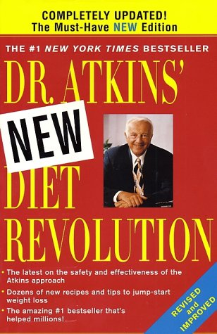 Dr. Atkins' New Diet Revolution   2002 9780060081591 Front Cover