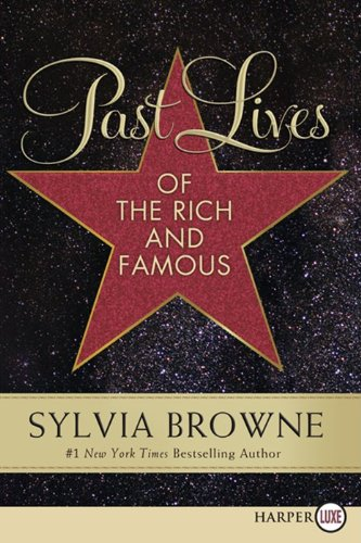 Past Lives of the Rich and Famous  Large Type  edition cover