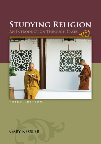 Studying Religion An Introduction Through Cases 3rd 2008 edition cover