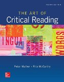 Art of Critical Reading  4th 2016 edition cover