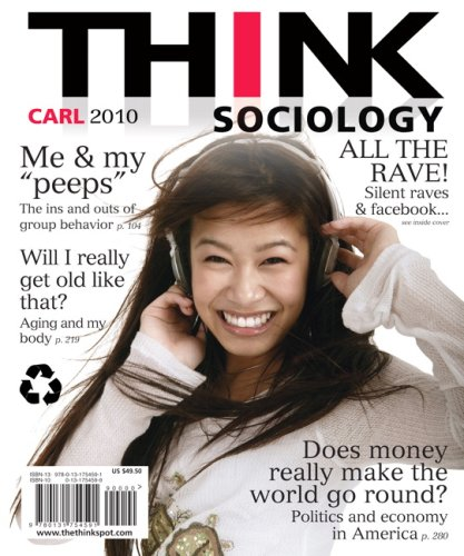 Think Sociology   2010 edition cover