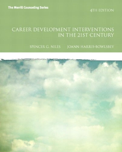 Career Development Interventions in the 21st Century  4th 2013 (Revised) edition cover