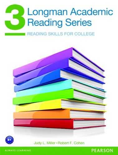 Reading Skills for College   2013 (Student Manual, Study Guide, etc.) edition cover