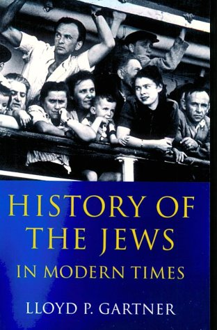History of the Jews in Modern Times   2001 edition cover