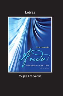 Letras for Anda! Curso Intermedio  2nd 2013 (Revised) edition cover