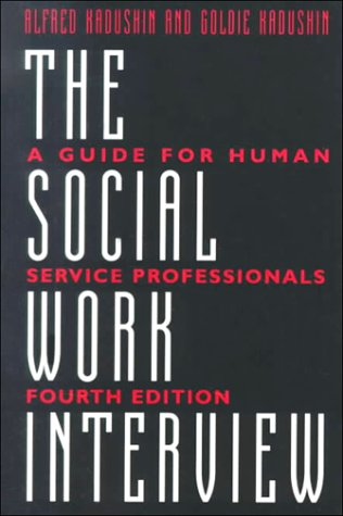 Social Work Interview A Guide for Human Service Professionals 4th 1997 edition cover