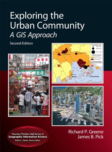 Exploring the Urban Community A GIS Approach 2nd 2012 edition cover