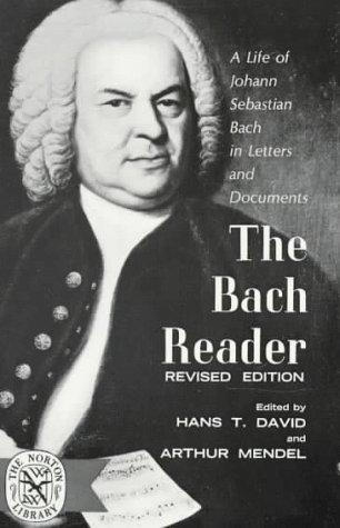 Bach Reader  Revised  edition cover