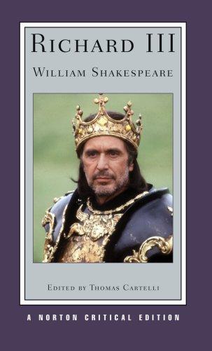 Richard III   2008 9780393929591 Front Cover
