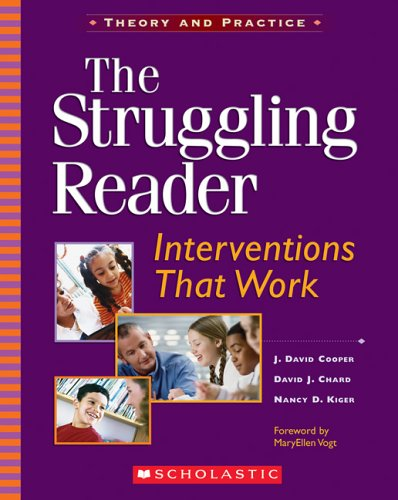 Struggling Reader Interventions That Work  2006 edition cover
