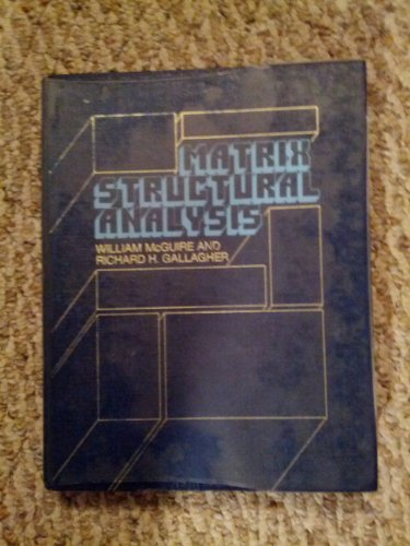 Matrix Structural Analysis  1st 1979 edition cover