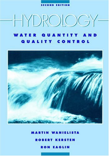Hydrology Water Quantity and Quality Control 2nd 1997 (Revised) edition cover