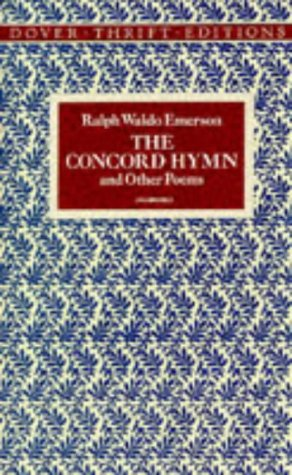 Concord Hymn and Other Poems   1996 9780486290591 Front Cover