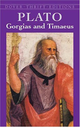 Gorgias and Timaeus   2003 edition cover