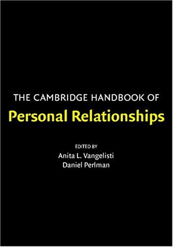 Cambridge Handbook of Personal Relationships   2006 edition cover